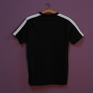 Palm Angels Shirts - Palm Angels Black Short Sleeve T-Shirt